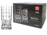 Набор стаканов для напитков Marilyn 6шт, 350ml