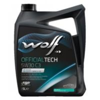 Масло моторное WOLF, 5W30 OFTECH C3 4L
