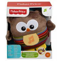 Fisher-Price Мягкий музыкальный ночник Веселый совенок