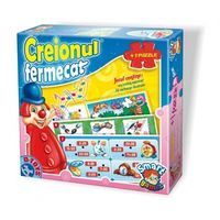 D-Toys Интерактивный пазл Creionul fermecat