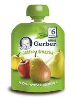 Gerber пюре яблоко груша, 6 мес, 90 гр