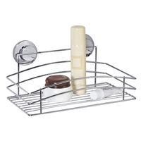 Полка для ванны одноярусная на вакуумных присосках 015-ТК