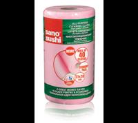 Sano Многофункциональные салфеткиRoll Pink, 40 шт