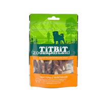 TiT BiT Твистеры с телятиной для маленьких собак 50 gr