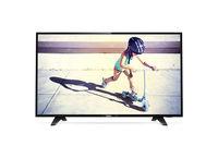 TV LED Philips 49PFS4132/12, Black
