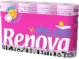 "RENOVA Туалетная бумага розовая ""Skin Care"" (12) 8024709"