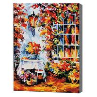 Осенняя стена Алмазная мозаика 40x50 см