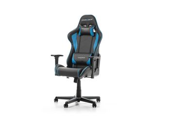 Gaming Chair DXRacer Racing GC-R0-NB, Black/Blue, User max loadt up to 150kg / height 165-195cm
