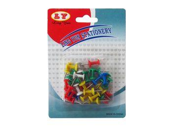 "Set pioneze 20buc, plastic, colorate ""turn"""