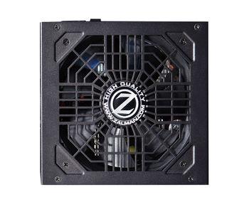"PSU ZALMAN ""ZM700-GVM"", 700W, ATX 2.31, 80 PLUS® Bronze, Active PFC, Modular Cable System, 120mm Quiet Fan, Dual Forward Switching, +12V (52.5A), 20+4 Pin, 2xEPS(4+4Pin), 6xSATA, 4xPCI-E(6+2pin), 4x Periph., Black"