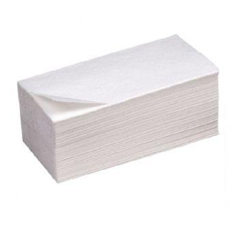 Бумажные полотенца V укл. белые 2 слоя 200 листов