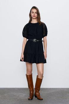 Платье ZARA Чёрный 3666/061/800