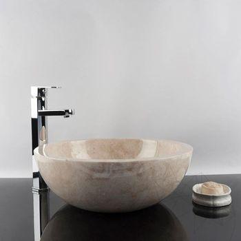 купить Раковина для ванной Мрамор Капучино RS-5, 42 x 15 см в Кишинёве