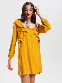 Платье RESERVED Желтый vf812-18x