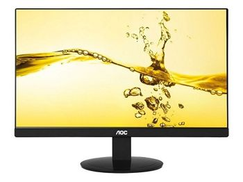 "23.8"" AOC IPS LED I2480SX Black Borderless (5ms, 50M:1, 250cd, 1920x1080,178/178, DVI)"