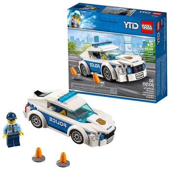 """LEGO City """"Автомобиль полицейского патруля"""", арт. 60239"""
