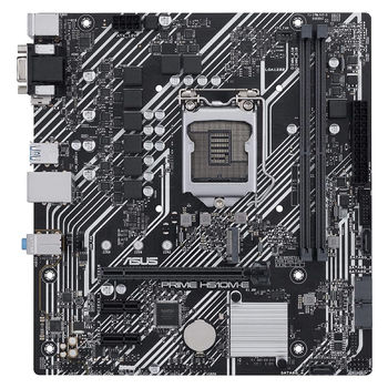 Материнская плата ASUS PRIME H510M-E Intel H510, LGA1200, Dual DDR4 3200MHz, PCI-E 4.0/3.0 x16, D-Sub/Display Port 1.4/HDMI 2.0, USB3.2, SATA 6 Gbps, M.2 x4 Socket, SB 8-Ch., GigabitLAN, LED lighting