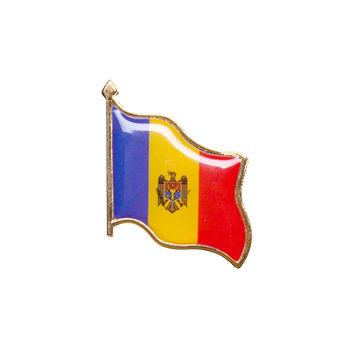купить Значок - Флаг Молдова 2 в Кишинёве