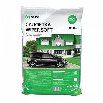 WIPER SOFT Салфетка 100% микрофибра 40x40 см