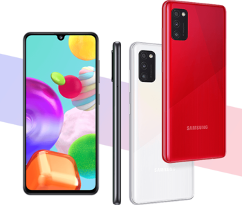 купить Samsung Galaxy A41 A415F/DS 4/64Gb, Red в Кишинёве