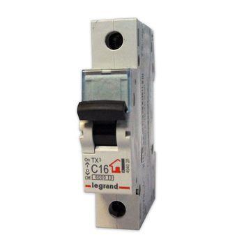 Legrand Автоматический выключатель TХ3 C10A 1P 6000