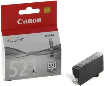 Cartridge Canon CLI-521GY, Gray