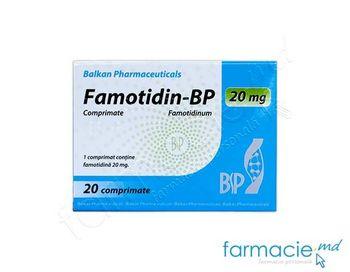 купить Famotidin-BP comp.20 mg  N20(Balkan) в Кишинёве