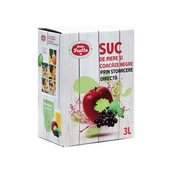 Сок яблочно-черносмородиновый, 3 л Dolce Frutto