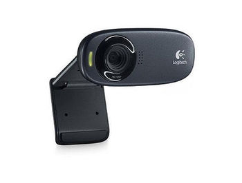 Logitech Webcam C310, Microphone, HD video calling ( 1280 x 720 pixels ), Photos: Up to 5 megapixels (soft. enh.), RightLight 2, RightSound, USB 2.0, 960-001065, (camera web/веб-камера)