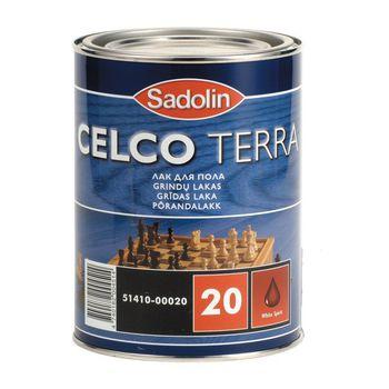 Sadolin Лак Celco Terra 20 Полуматовый 1л