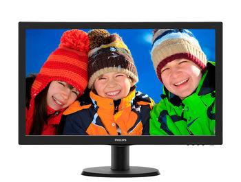 """cumpără Monitor 23.6"""" Philips """"243V5LHSB"""", Black în Chișinău"""