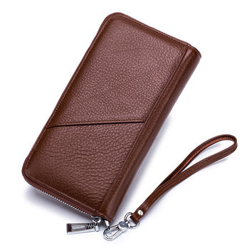 купить Длинный  кошелек  из натуральной  кожи. в Кишинёве