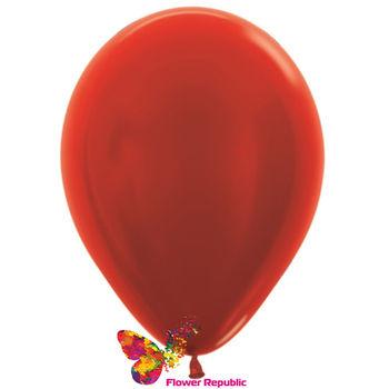 купить Воздушные шары , красный  перламутр - 30 см в Кишинёве