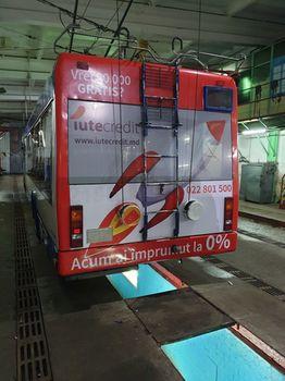 купить Реклама на задней части троллейбусов (10 шт) в Кишинёве