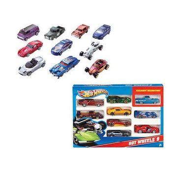 cumpără Mattel Hot Wheels Set de maşini, 10 buc. în Chișinău