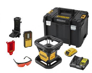 купить Нивелир лазерный ротационный DeWALT DCE074D1R в Кишинёве