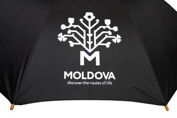 cumpără Umbrelă din lemn (neagră) – Pomul Vieții în Chișinău