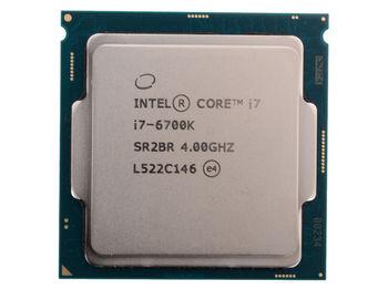 Intel® Core™ i7 6700K, S1151, 4-4.2GHz, 8MB L3, Intel® HD Graphics 530, 14nm 91W, tray
