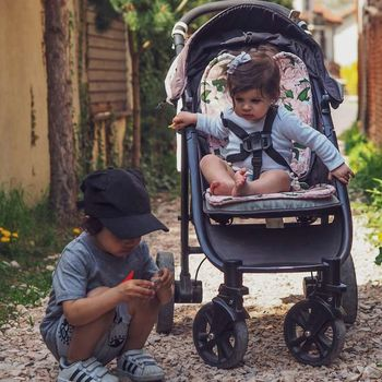 купить Матрасик для коляски/автокресла LaMillou Jungle - Ink в Кишинёве