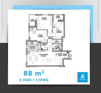купить 1 комнатная квартира в Кишинёве