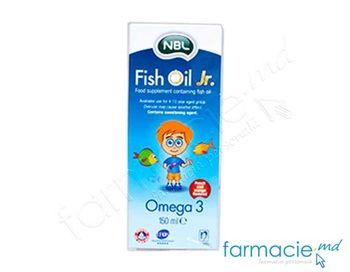 купить NBL Fish Oil Jr. 150 ml Sirop в Кишинёве