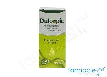 cumpără Dulcopic® pic. orale, sol. 7,5 mg/ml 15 ml N1 în Chișinău