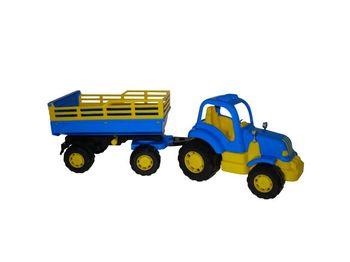 купить Полесье трактор с прицепом Крепыш в Кишинёве
