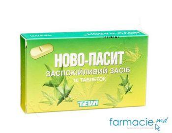 купить Novo-Pasit tab. N10 (TVA 20%) в Кишинёве