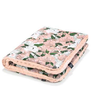 cumpără Pătură moale LaMillou Lady Peony – Powder Pink (100x80 cm) în Chișinău