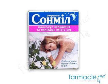 купить Sonmil comp. 15mg N10 в Кишинёве