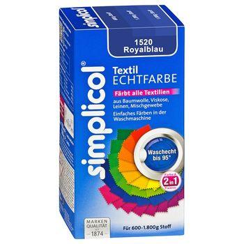 купить SIMPLICOL - Краска для окрашивания одежды в стиральной машине, королевский синий в Кишинёве