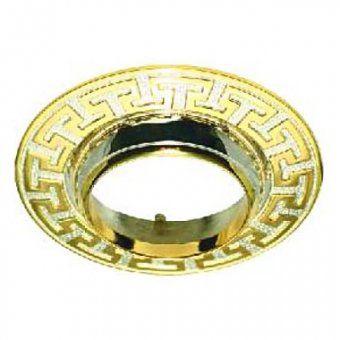 Feron Встраиваемый светильник AL2008 R-50 золото