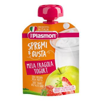 cumpără Plasmon Piure din capsuna, mar si iaurt cu Calciu, +12luni, 85g în Chișinău