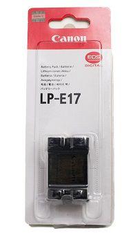 Battery Pack Canon LP-E17, 1040mAh, 7.2V, Li-Ion Batteries for EOS 750D,760D & M5,M3 & Rebel T6i
